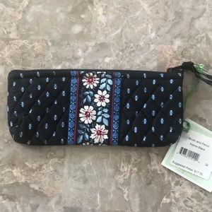 Vera Bradley Brush and Pencil Pouch NWT